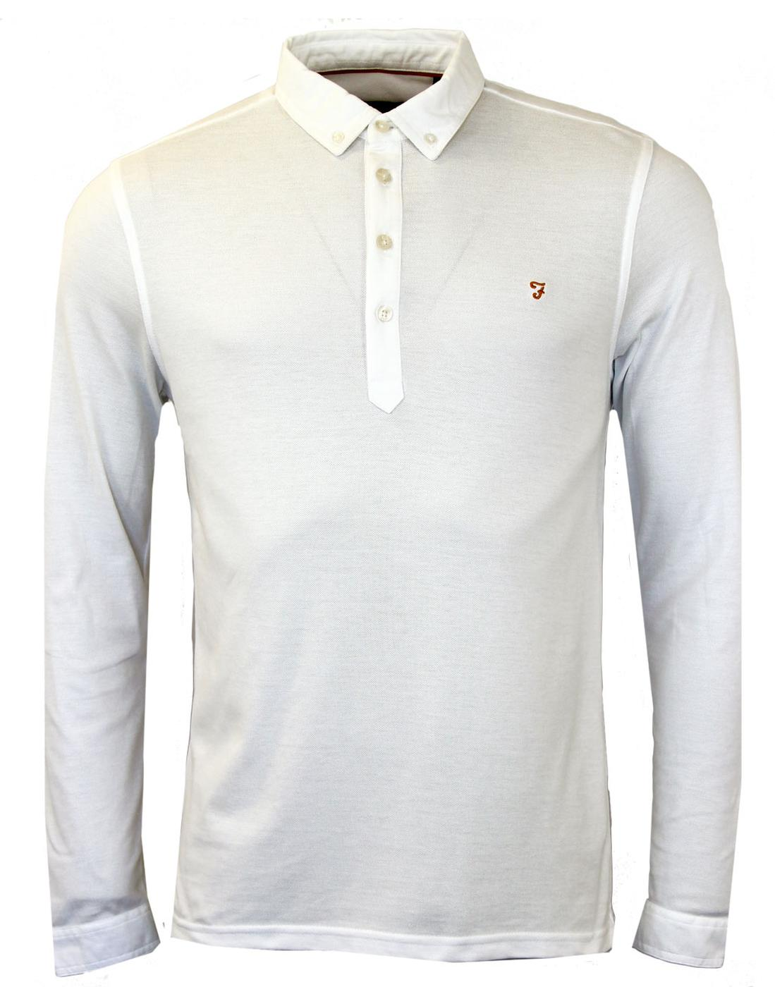 Merriweather FARAH VINTAGE Retro Mod Polo (W)