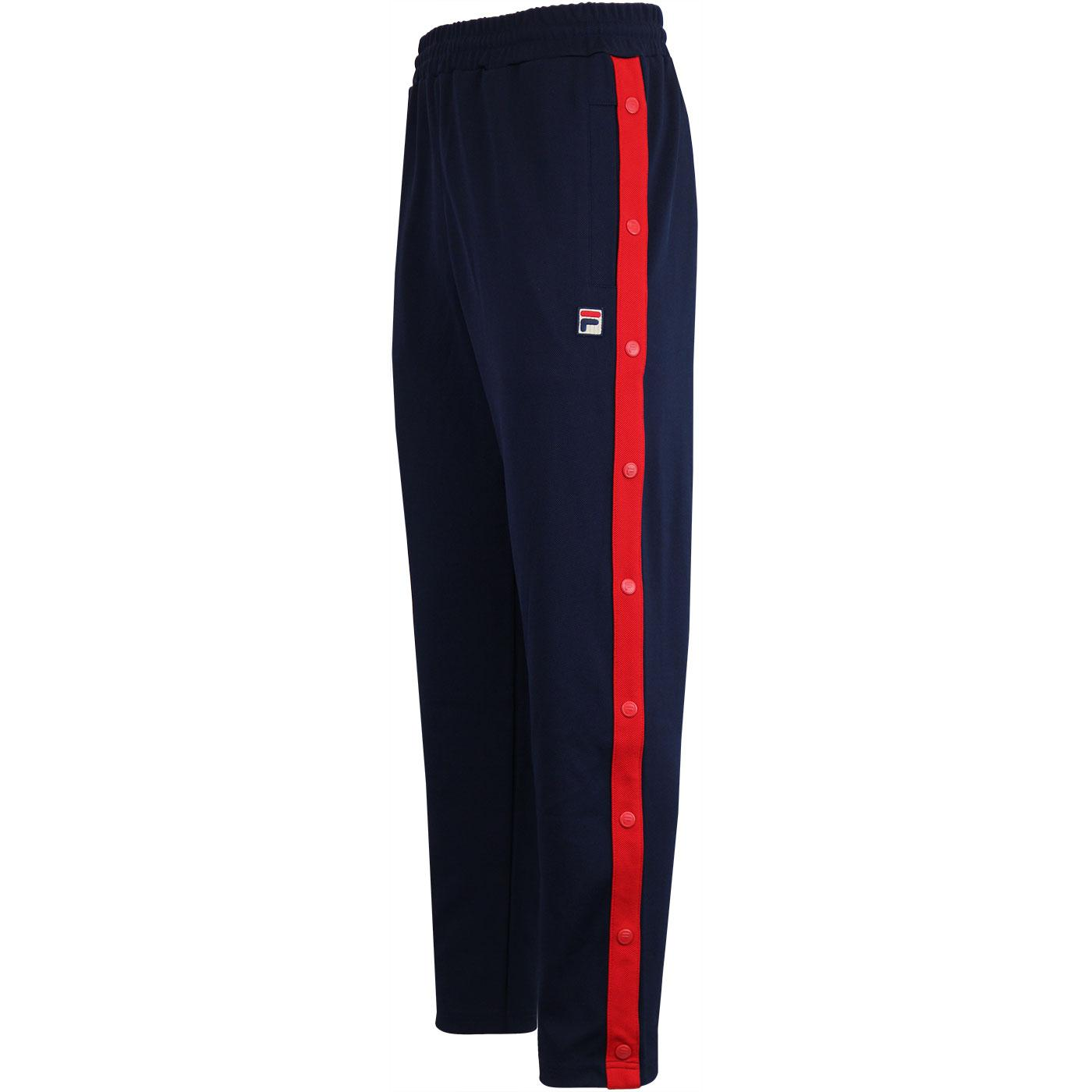 Friars FILA VINTAGE High Waist Twill Track Bottoms