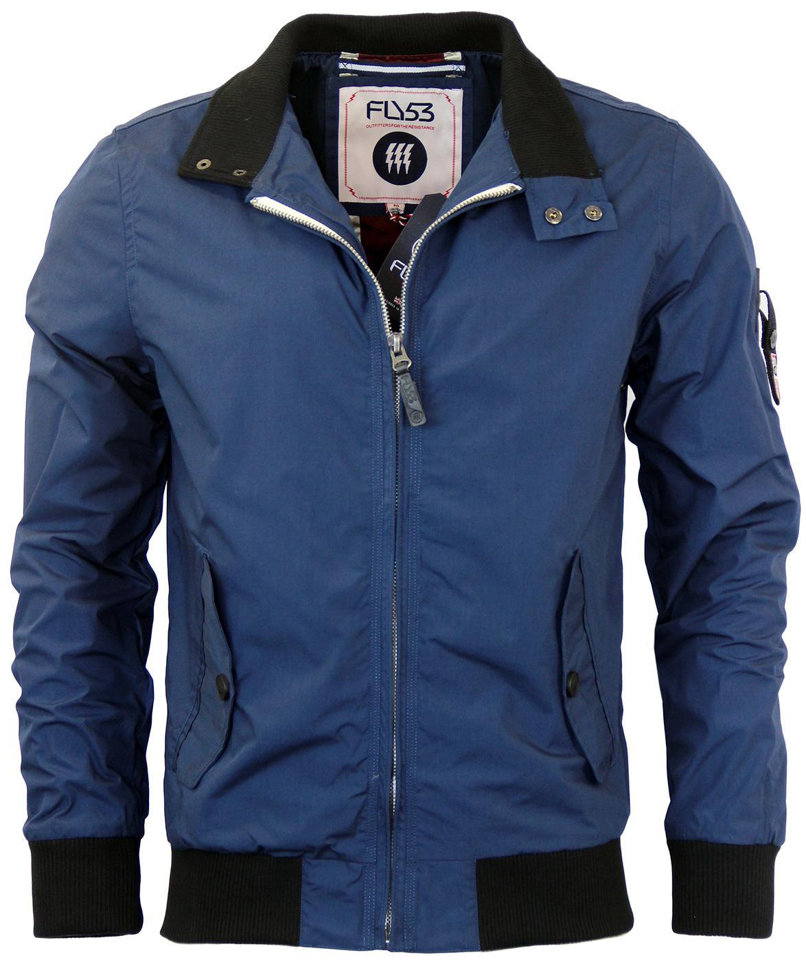 Churchill FLY53 Retro Union Jack Harrington Jacket