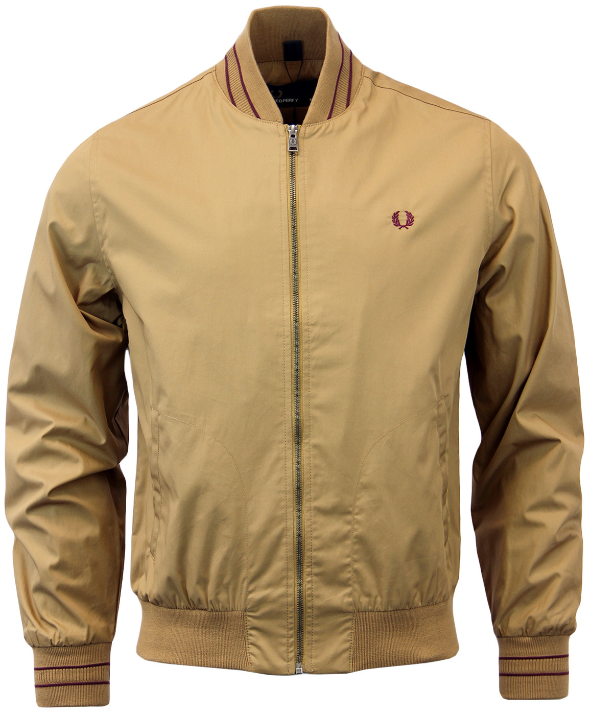 FRED PERRY TRAMLINE BOMBER JACKET J8223 RUBBER