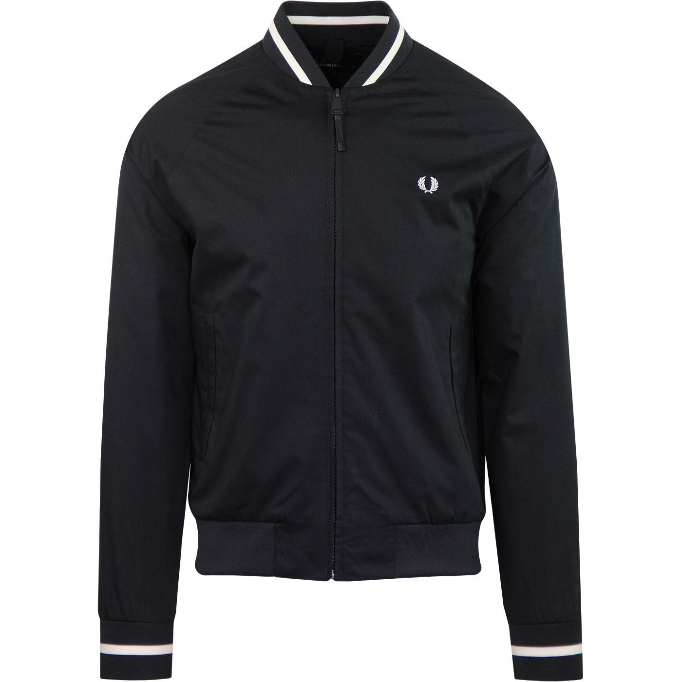 J5521 tennis bomber jacket navy