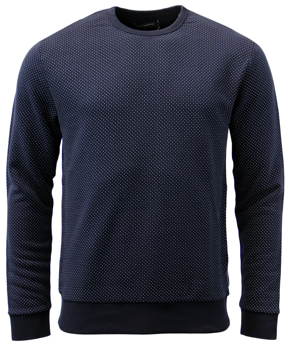 FRENCH CONNECTION Retro Mod 60s Micro Dot Jumper