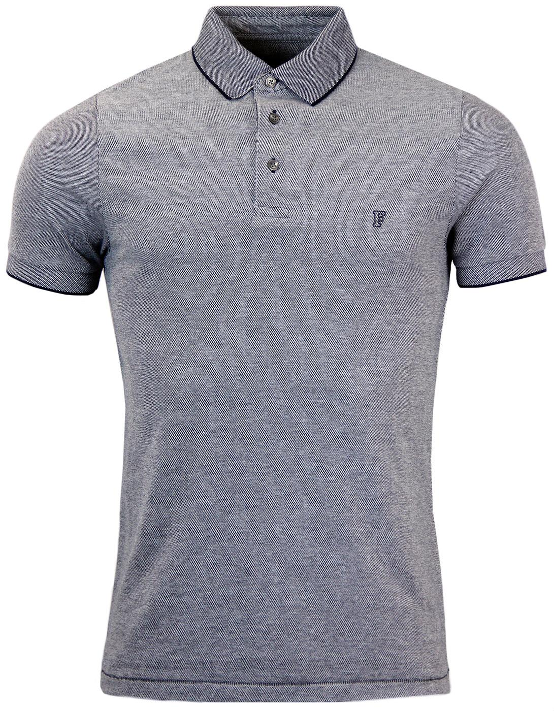FRENCH CONNECTION Retro Mod 60s Pique Polo