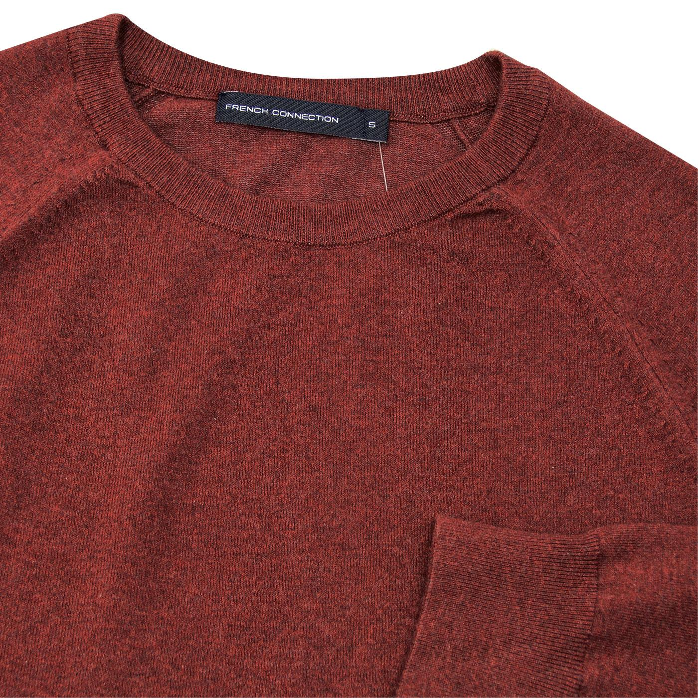 a1e8af430aef2 FRENCH CONNECTION Stretch Crew Neck Jumper Raspberry