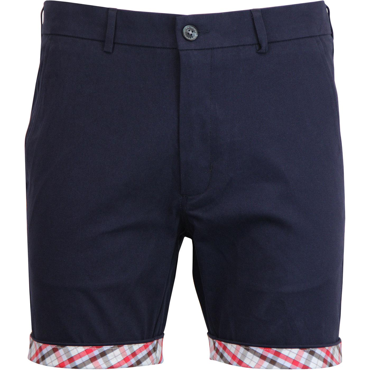 Cooper GABICCI VINTAGE Cotton Twill Chino Shorts N