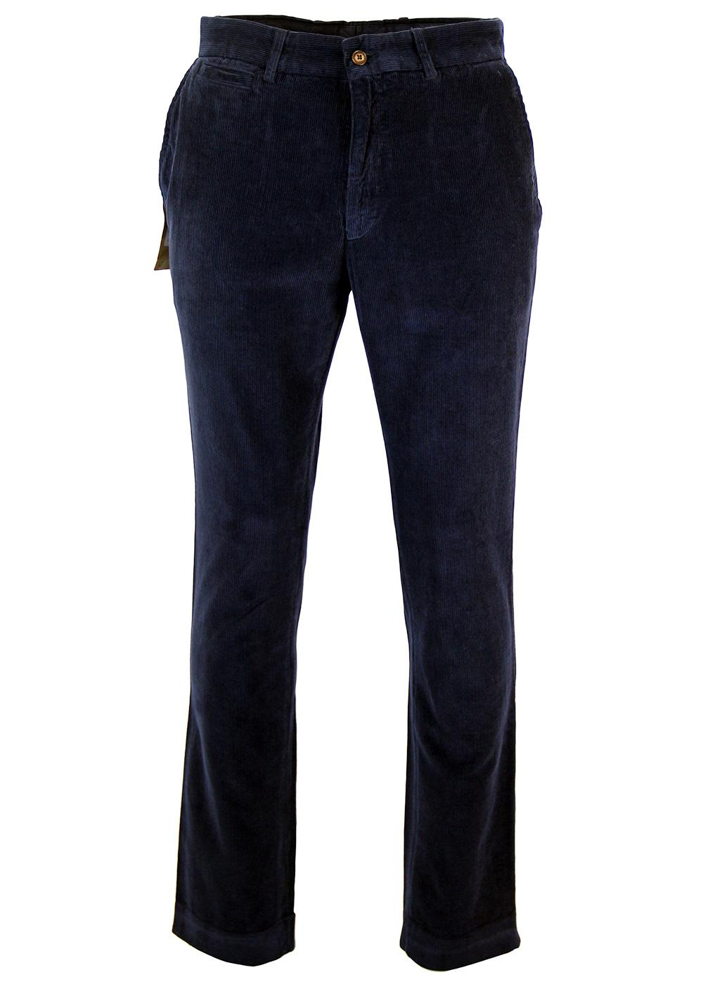 GIBSON LONDON Retro Mod Cord Trousers