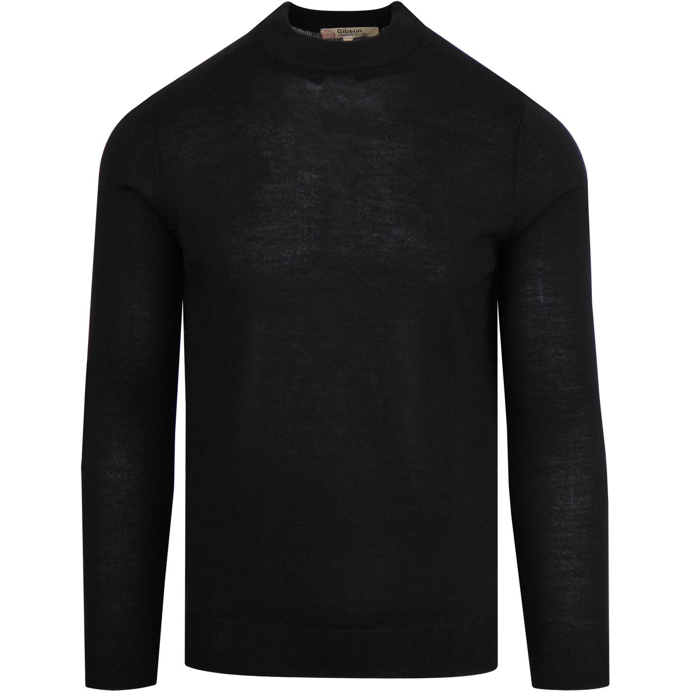 GIBSON LONDON Mod Knitted Turtle Neck Jumper (B)