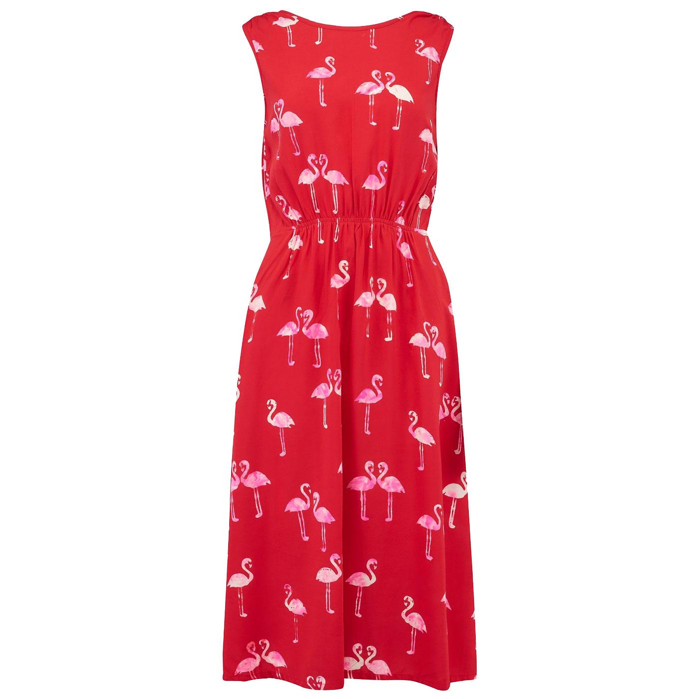 Gloria SUGARHILL BRIGHTON Caribbean Flamingo Dress