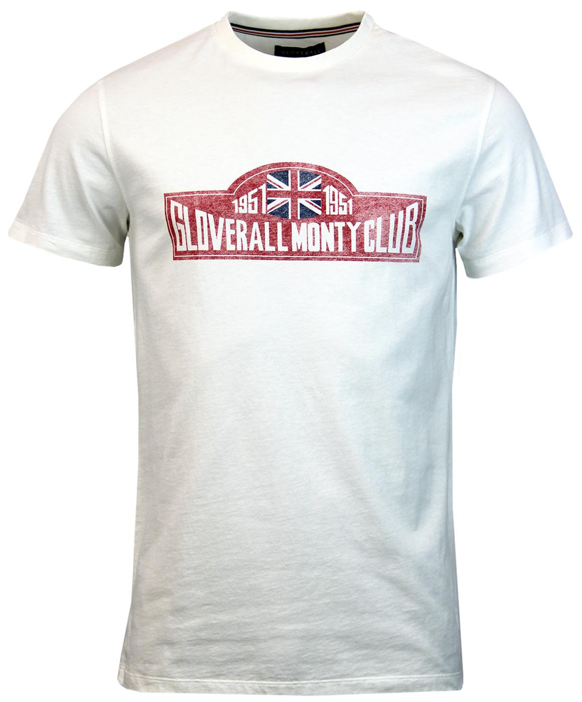 GLOVERALL Retro Monty Club Print Jersey T-Shirt