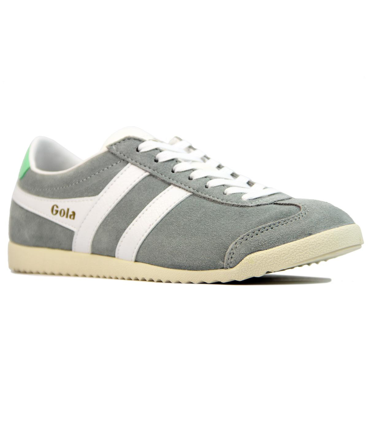 GOLA Bullet Womens Retro Suede Trainers GREY