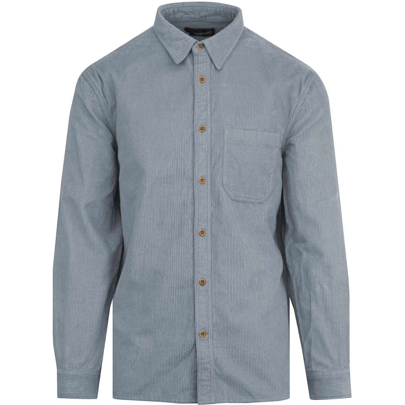 FRENCH CONNECTION Retro Mod Jumbo Cord Shirt (PB)