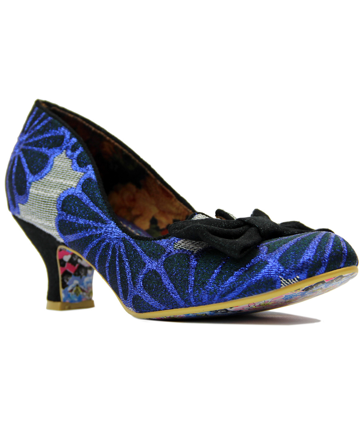 c9402eec046 Dazzle Razzle IRREGULAR CHOICE Retro Vintage Heels