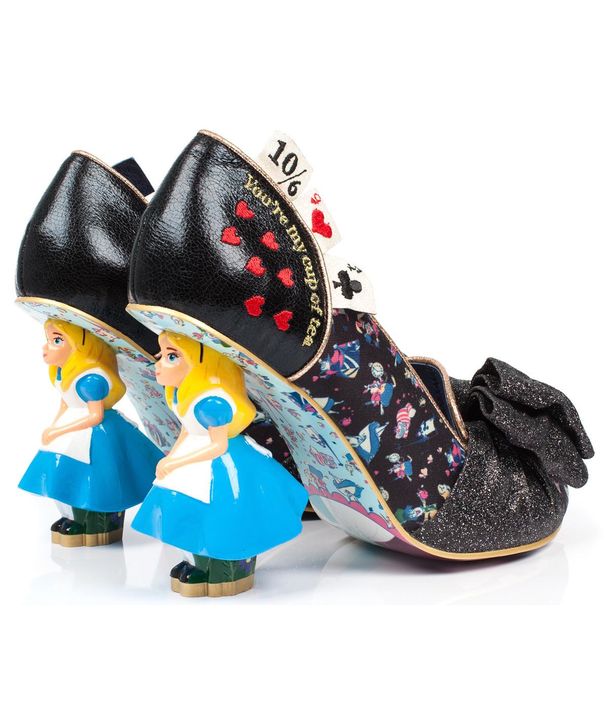 db30931927a Wonderland This Way IRREGULAR CHOICE Retro Heels