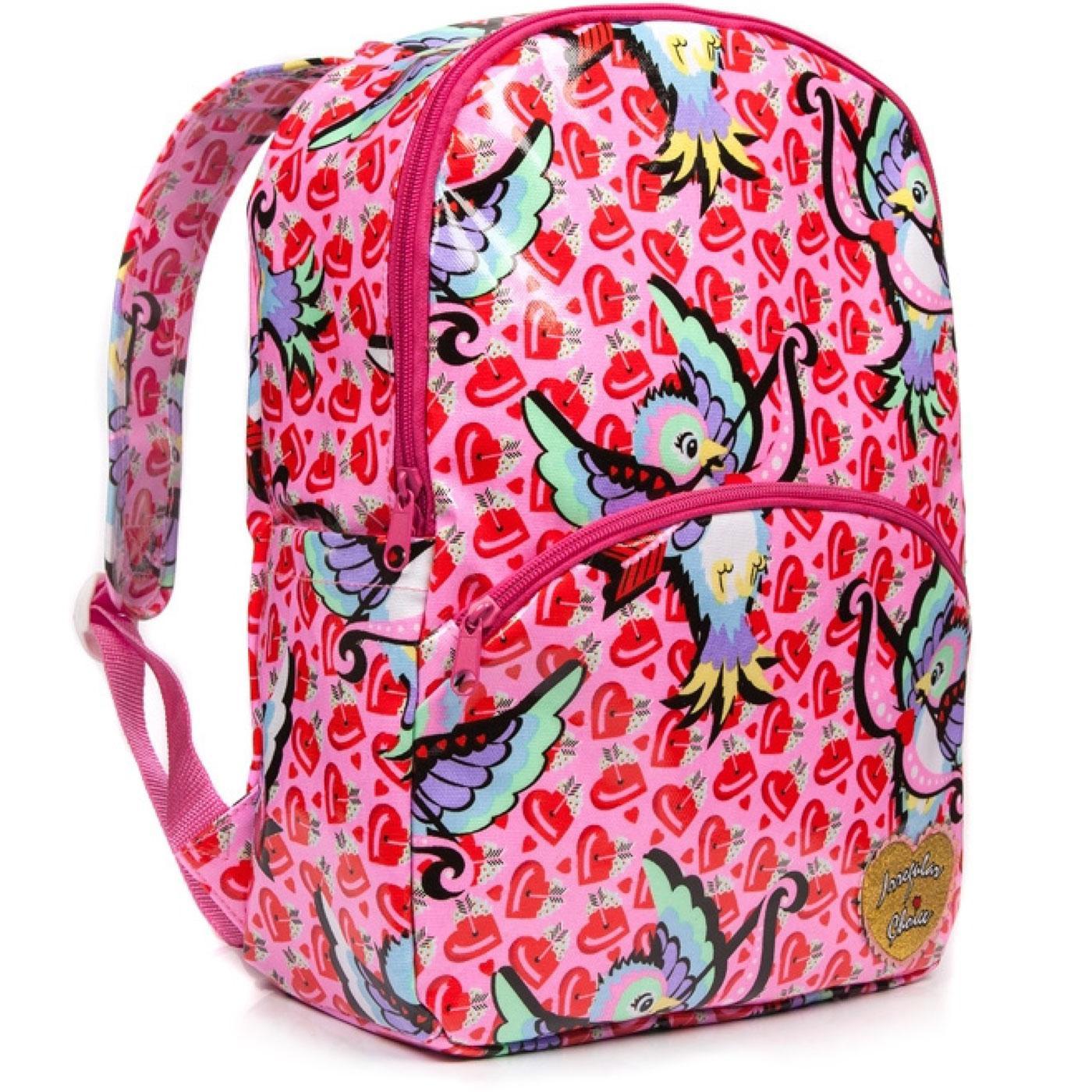 Back Packing IRREGULAR CHOICE Love Bird Backpack