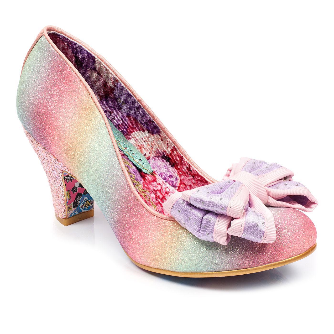 Lady Ban Joe IRREGULAR CHOICE Pastel Glitter Heels
