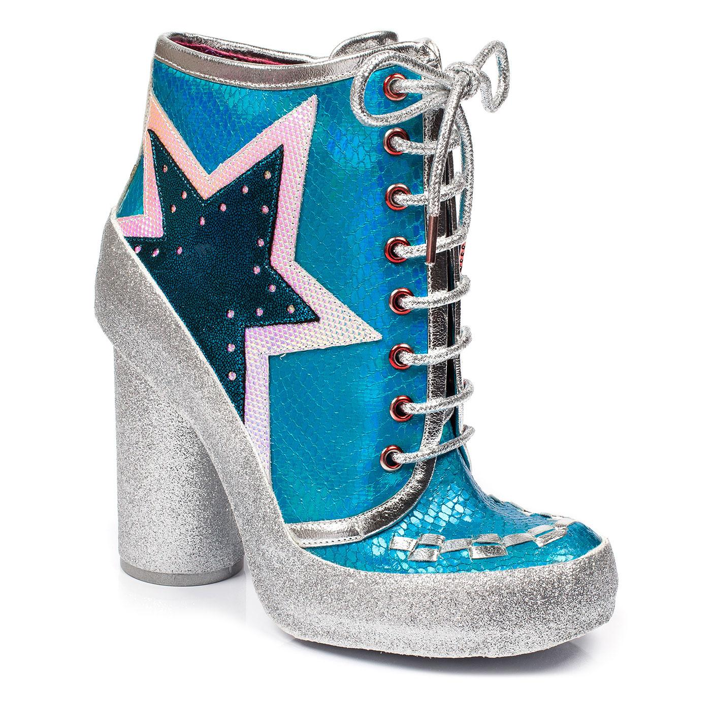 Milovat IRREGULAR CHOICE 70s Retro Glitter Boots