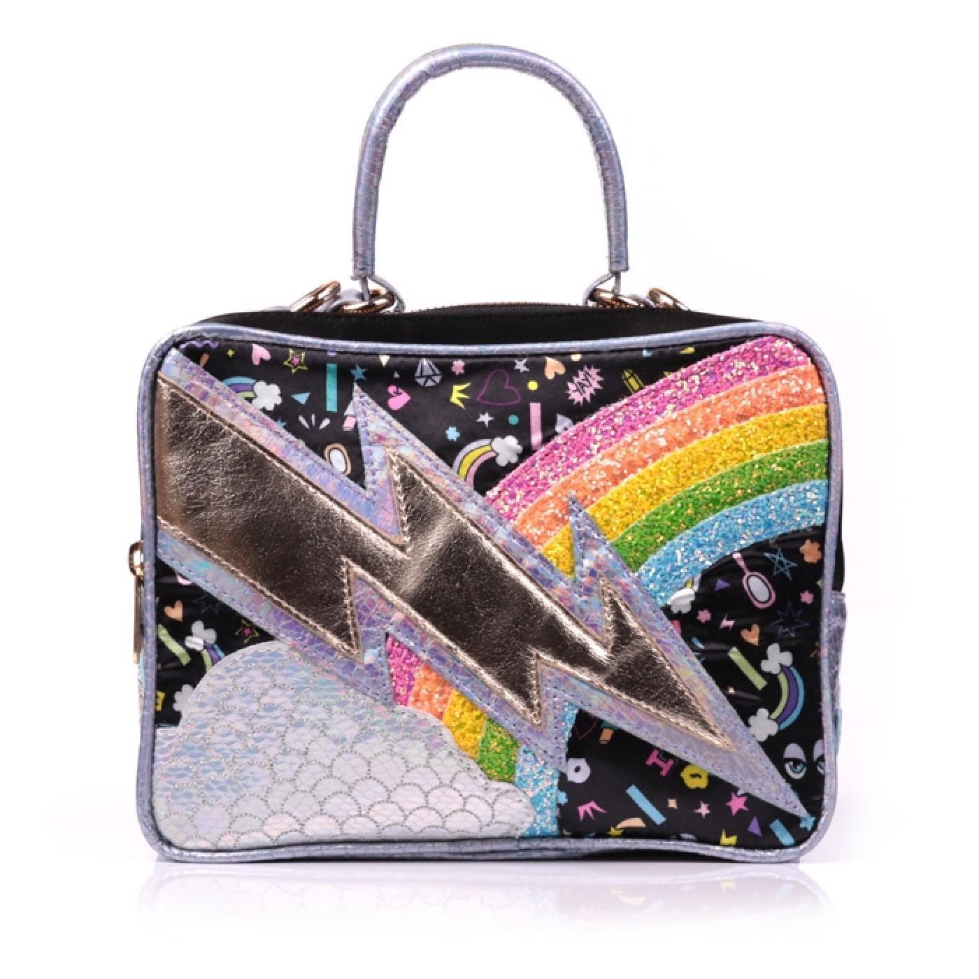 Rainbow Thunder IRREGULAR CHOICE Lightning bag Bl