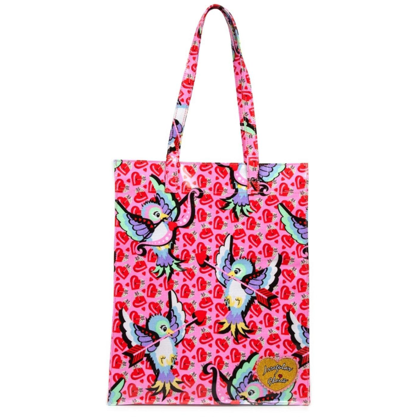 Totally IC IRREGULAR CHOICE  Love Bird Large Bag