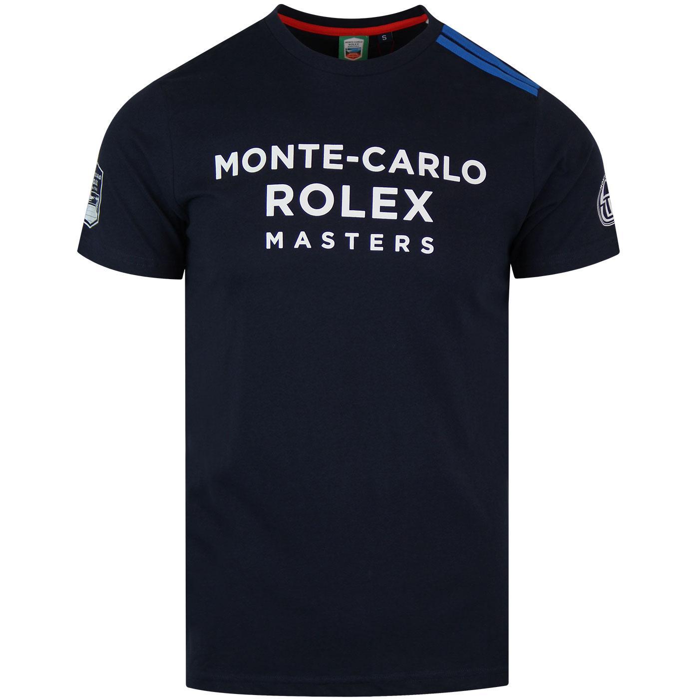 Irune SERGIO TACCHINI Monte Carlo Tennis Tee NAVY