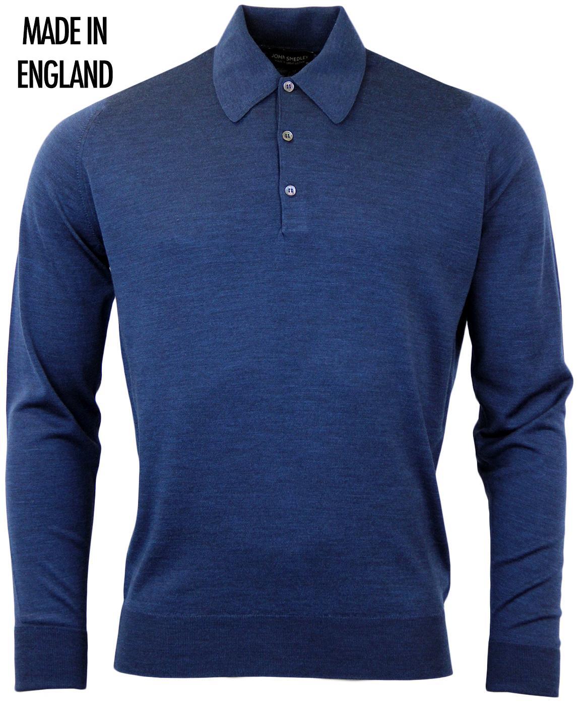 Dorset JOHN SMEDLEY Retro 60s Mod Knitted Polo I