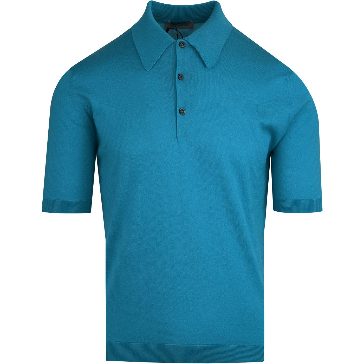 Isis JOHN SMEDLEY Easy Fit Mod Knit Polo Shirt IB