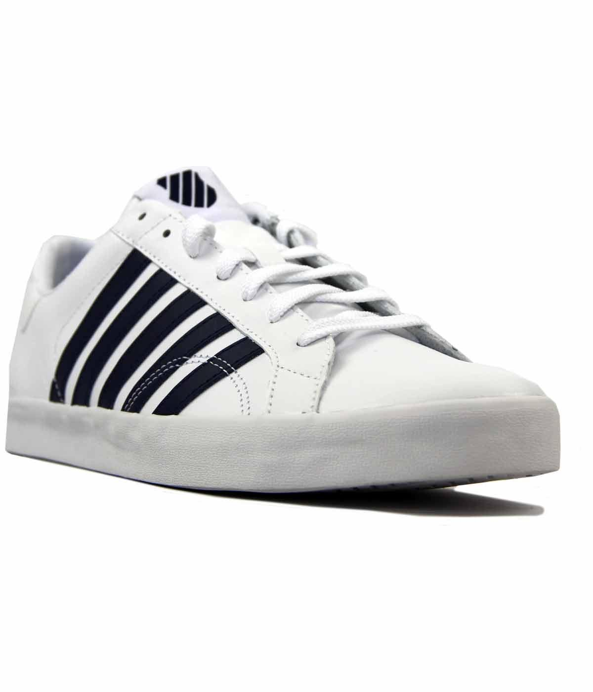 Belmont SO K-Swiss Court Style Retro 60s Trainers
