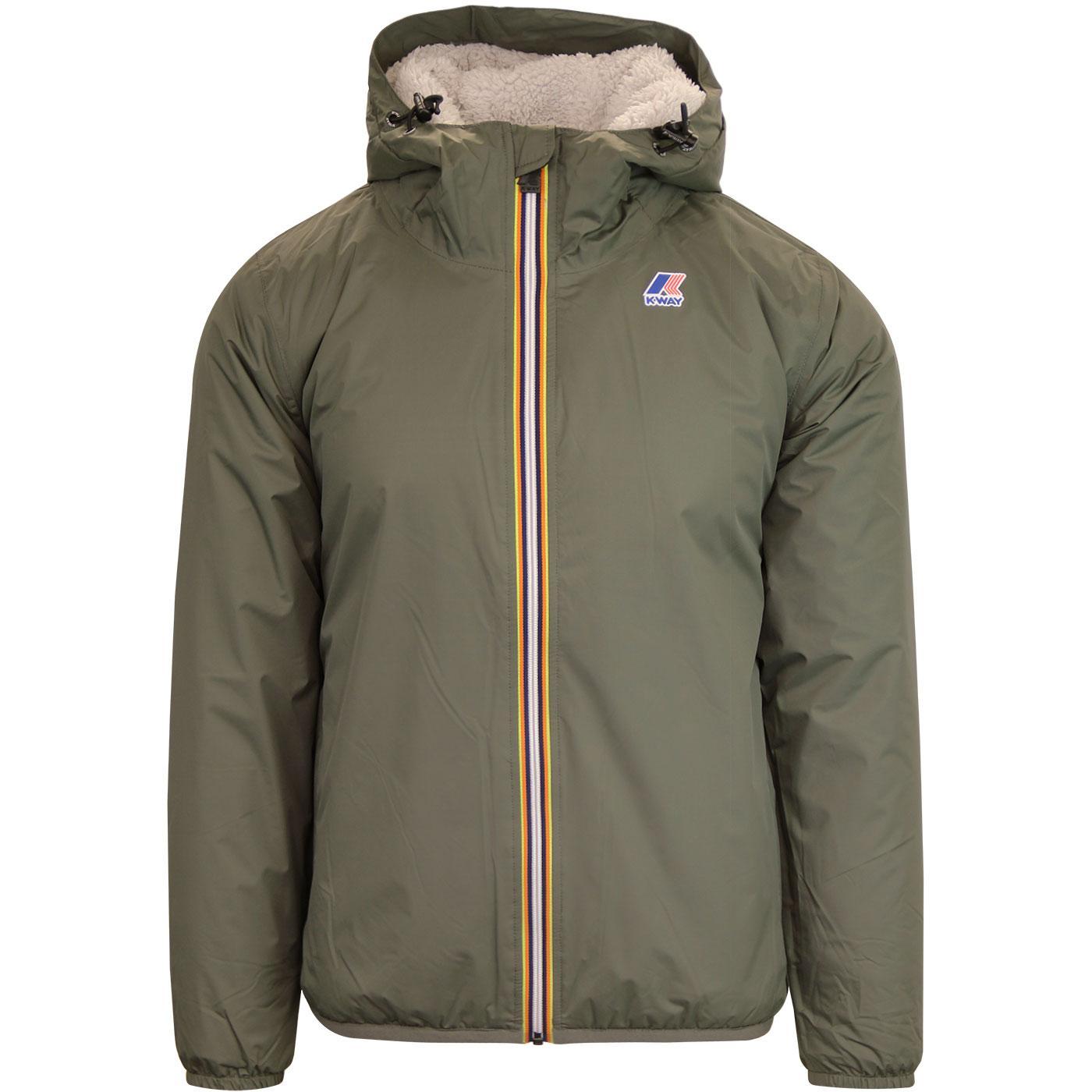 Claude Orsetto K-WAY Retro Fleece Lined Jacket TB