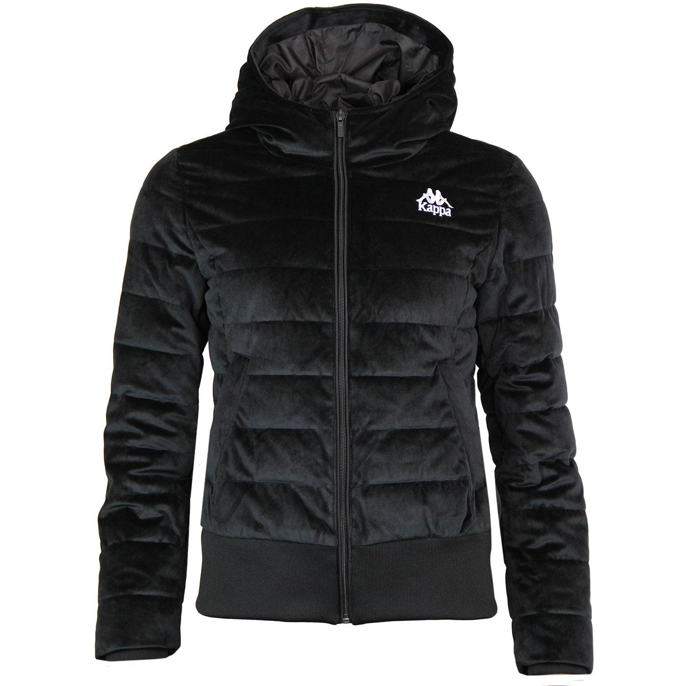 Ambac KAPPA Authentic Velvet Padded Jacket (Black)