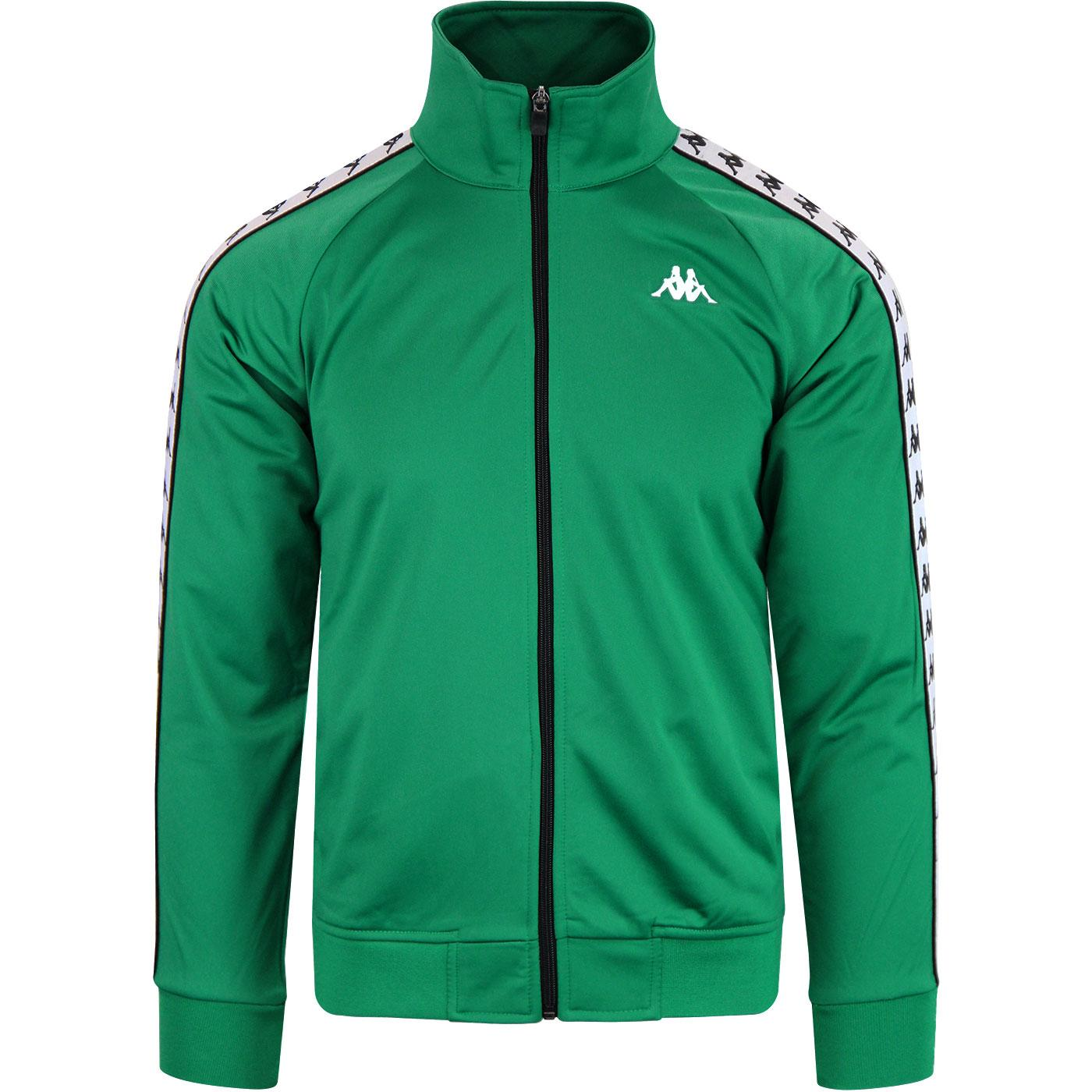 Anniston KAPPA 222 Banda Track Jacket GREEN/WHITE
