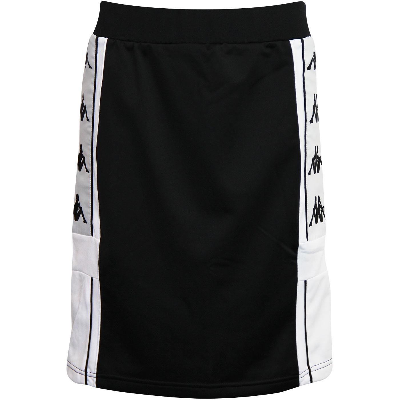 Askir Banda KAPPA Retro 1990s Skirt (Black/White)