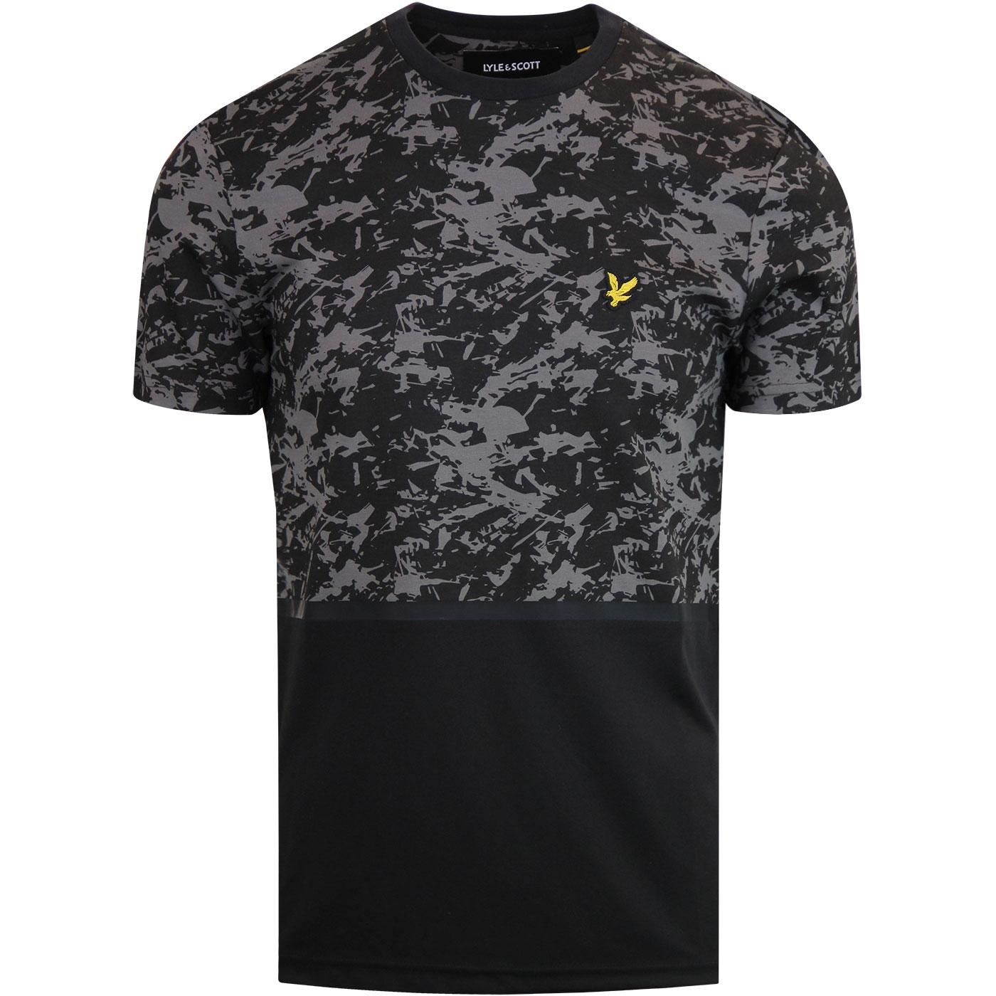 LYLE & SCOTT Casuals Camo Mens Retro Print T-shirt