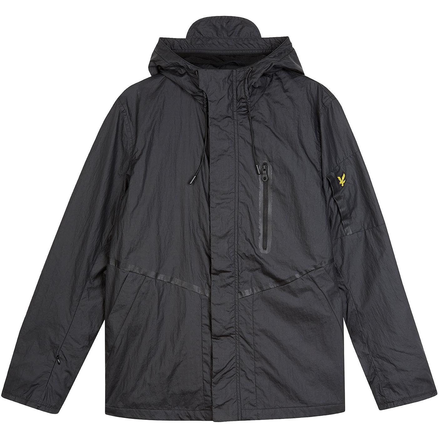 LYLE & SCOTT Casuals Hooded Jacket (True Black)