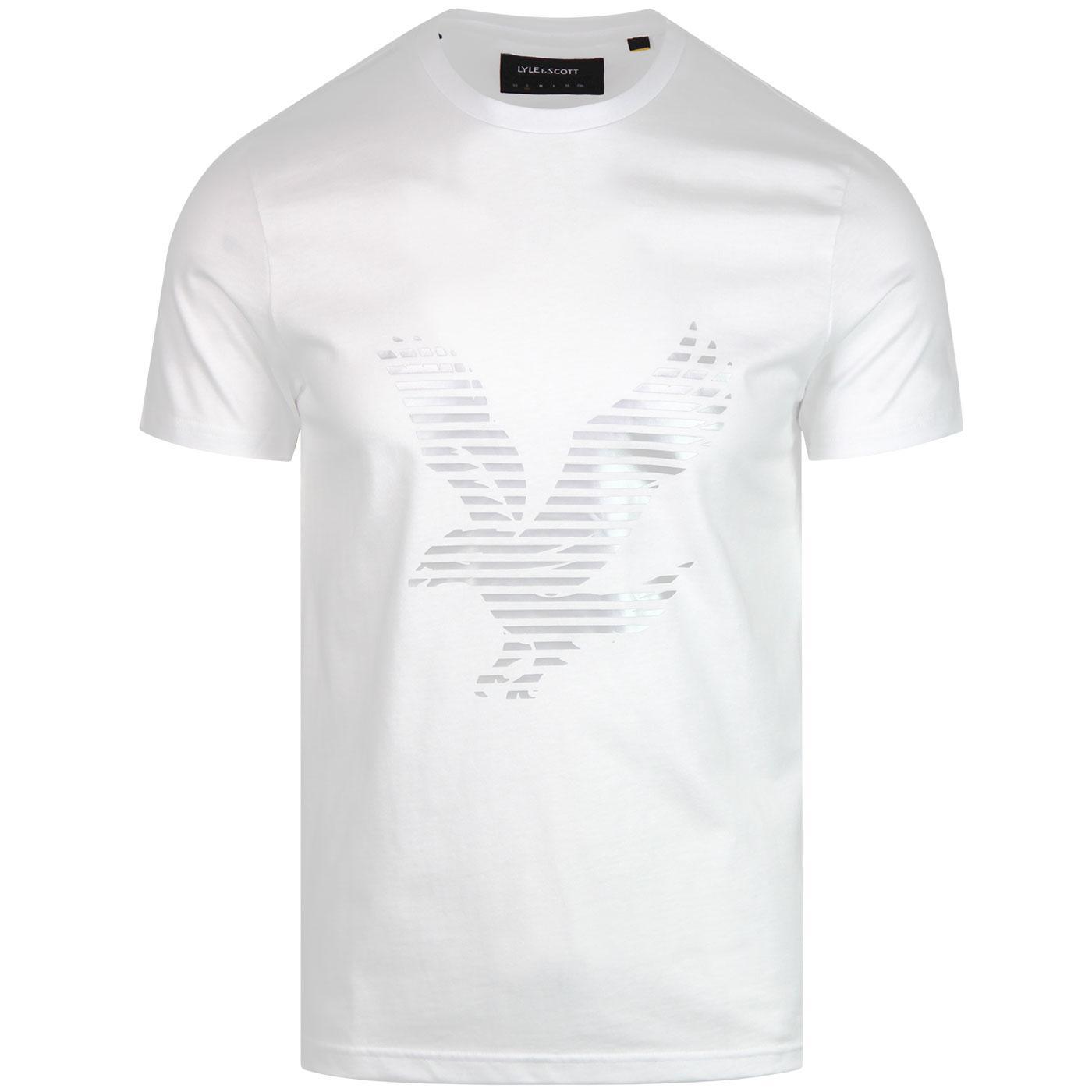 LYLE & SCOTT Retro Casuals Logo T-Shirt -  White
