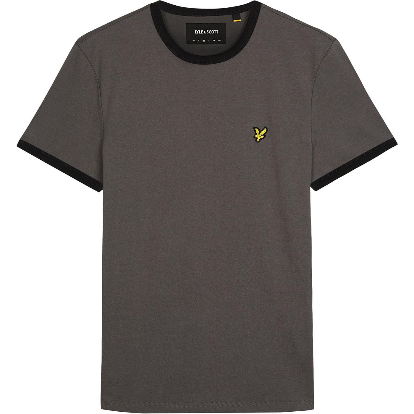 LYLE & SCOTT Retro Ringer T-Shirt (Urban Grey)