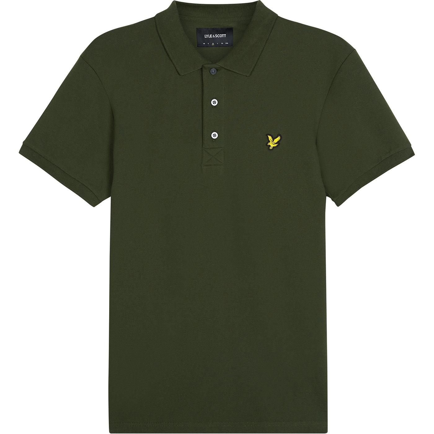 LYLE & SCOTT Men's Mod Stretch Pique Polo - Green