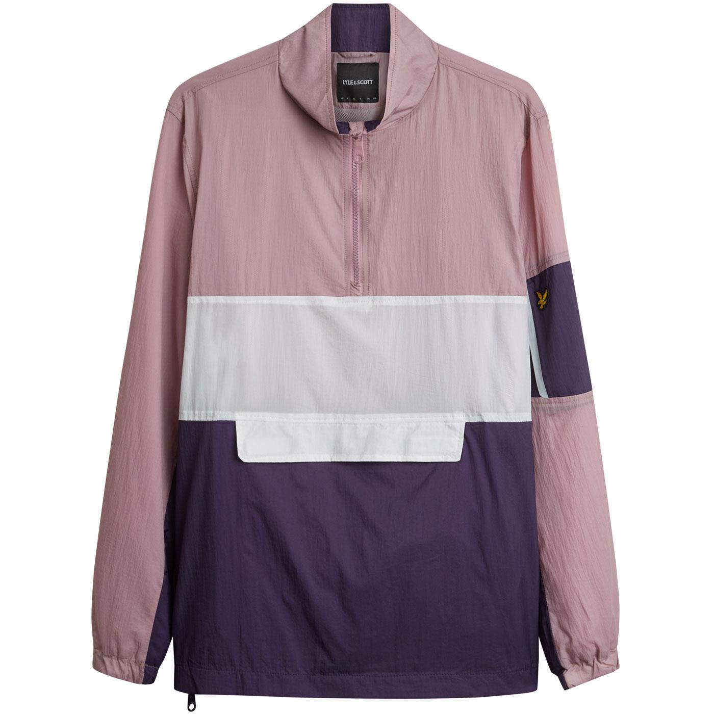 LYLE & SCOTT 80s Colour Block Overhead Jacket (LM)