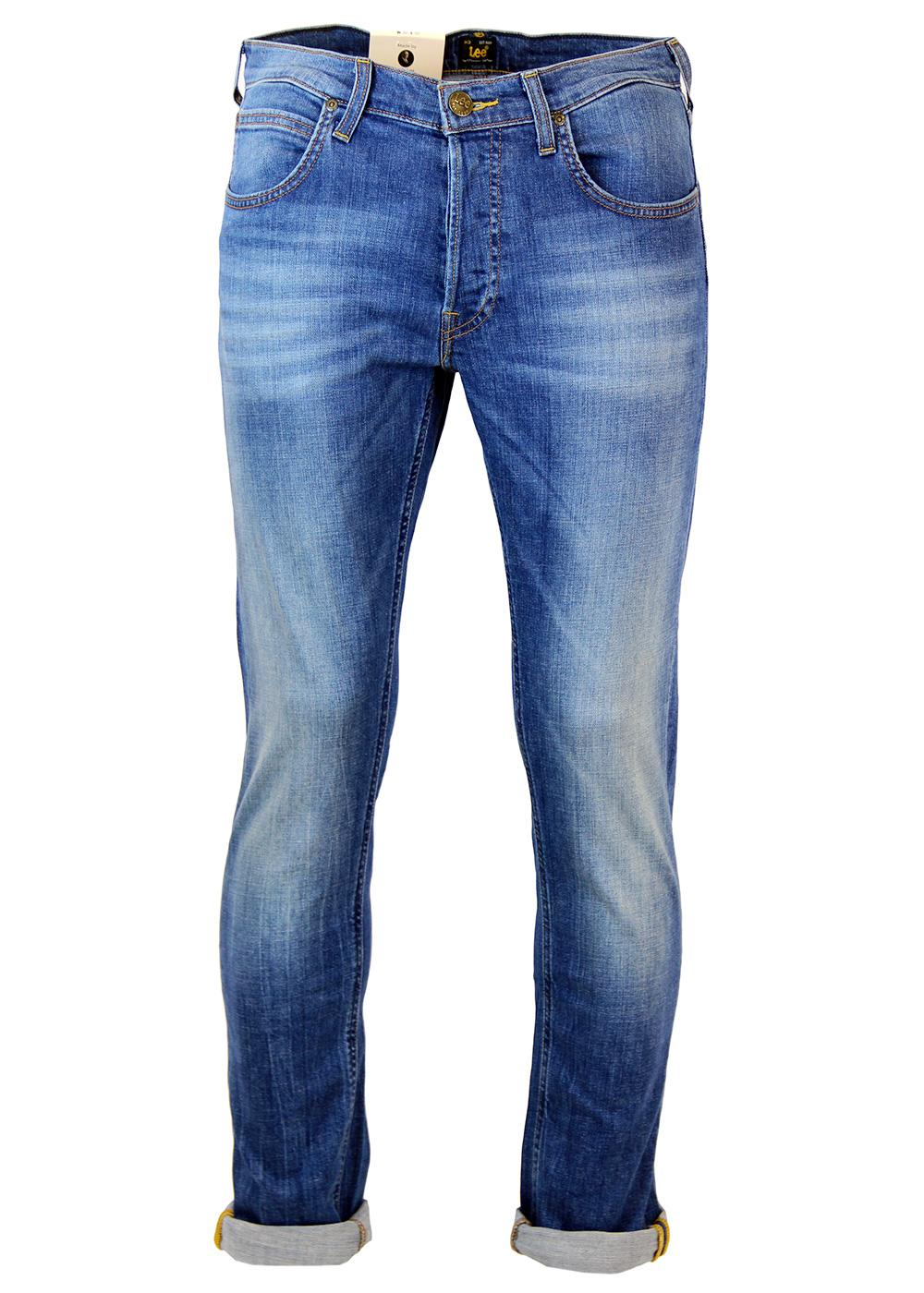Daren LEE Retro Mod Regular Slim Denim Jeans (AB)