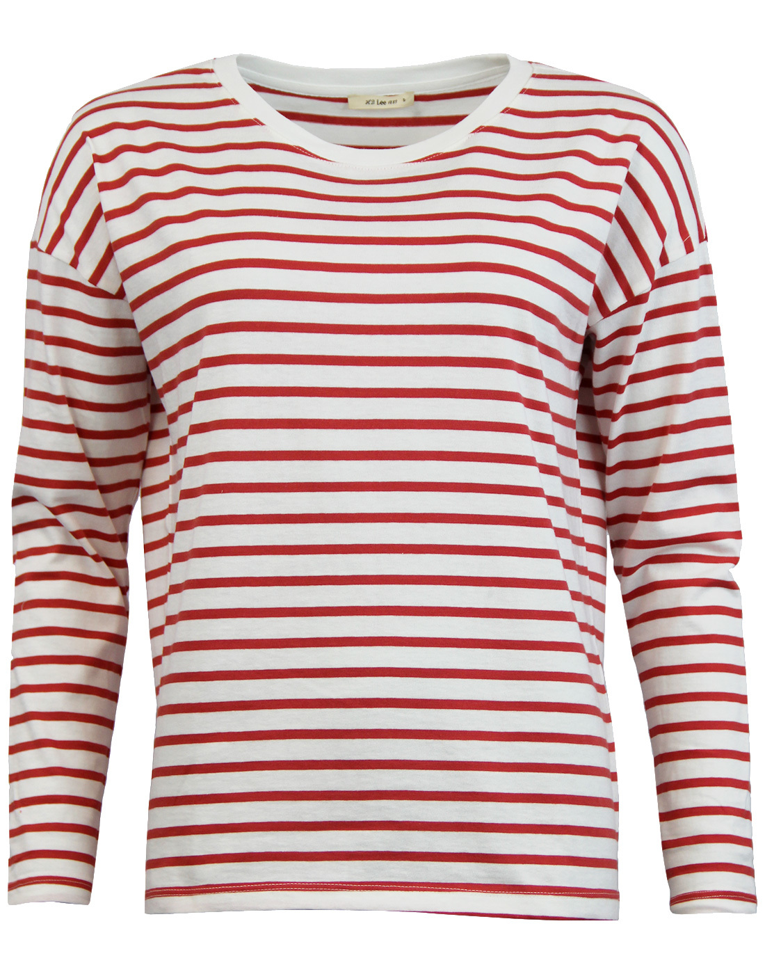 LEE Womens Retro Sixties Long Sleeve Breton Tee