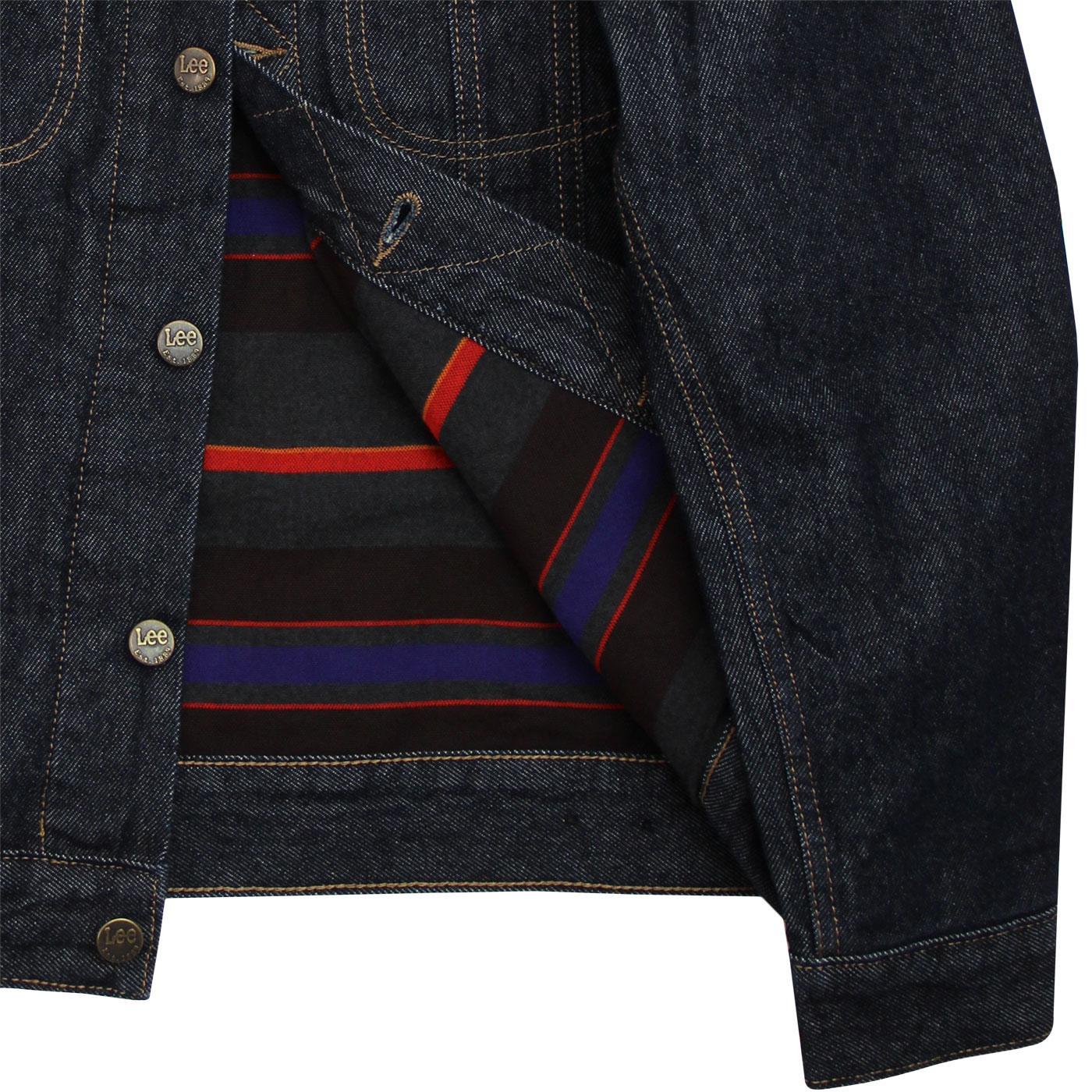 04b612ee2b1 LEE Storm Rider Men's Retro 70s Mod Cord & Denim Jacket