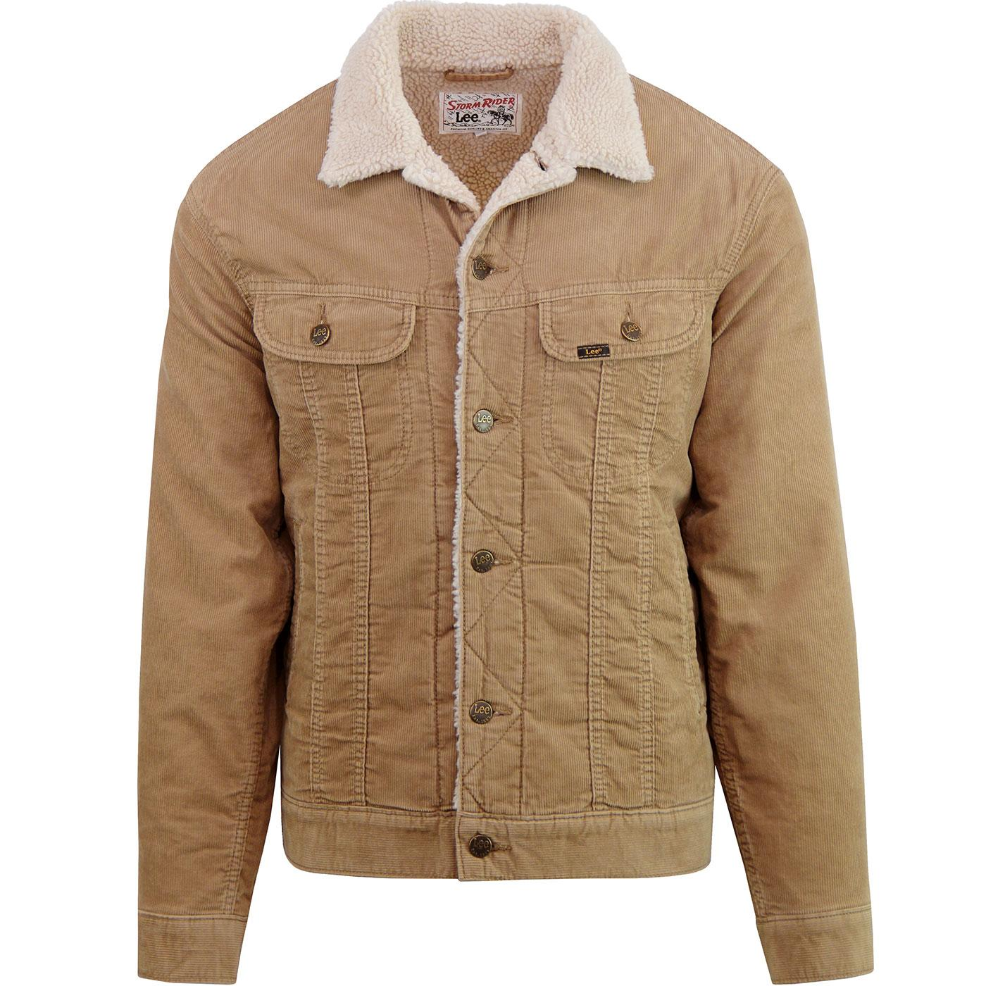 Storm Rider LEE Men's Retro Cord Sherpa Jacket A