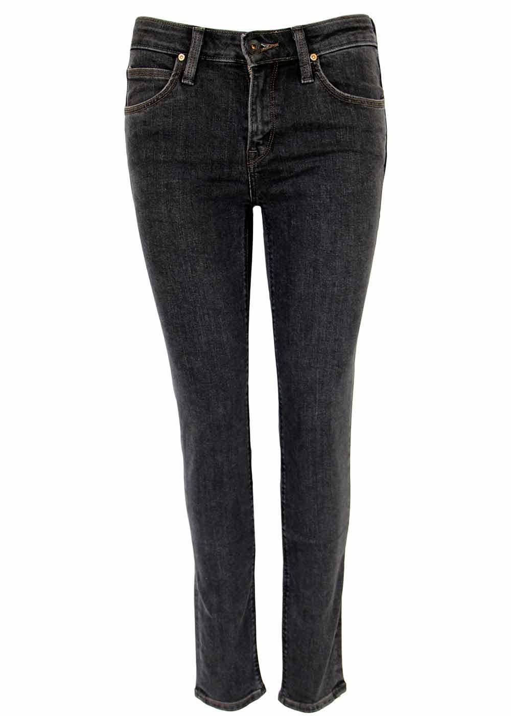 Scarlett LEE Retro Black Wash Skinny Denim Jeans
