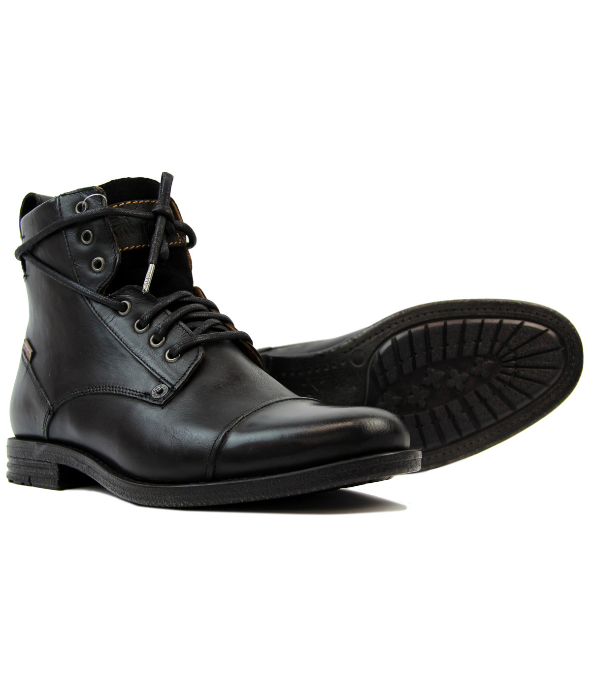 a77c883d31a Emmerson LEVI'S® Retro Mod Leather Military Boots