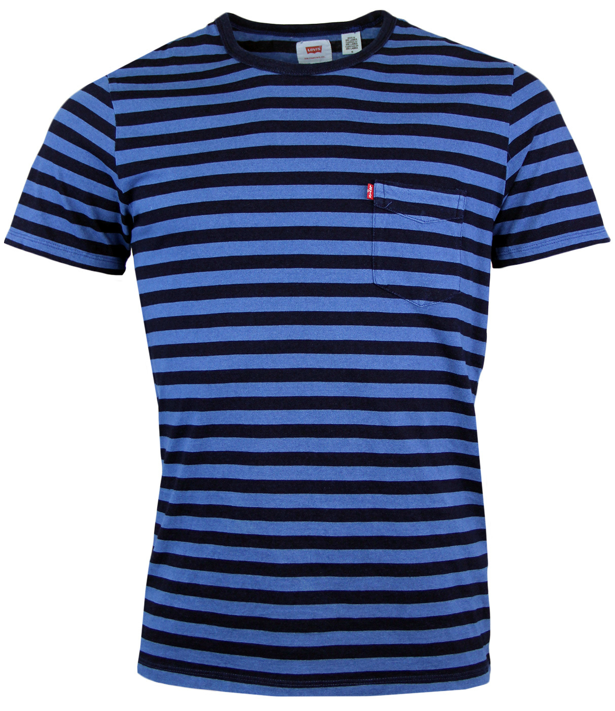 Sunset LEVI'S® Retro Mod 60s Stripe Pocket T-Shirt