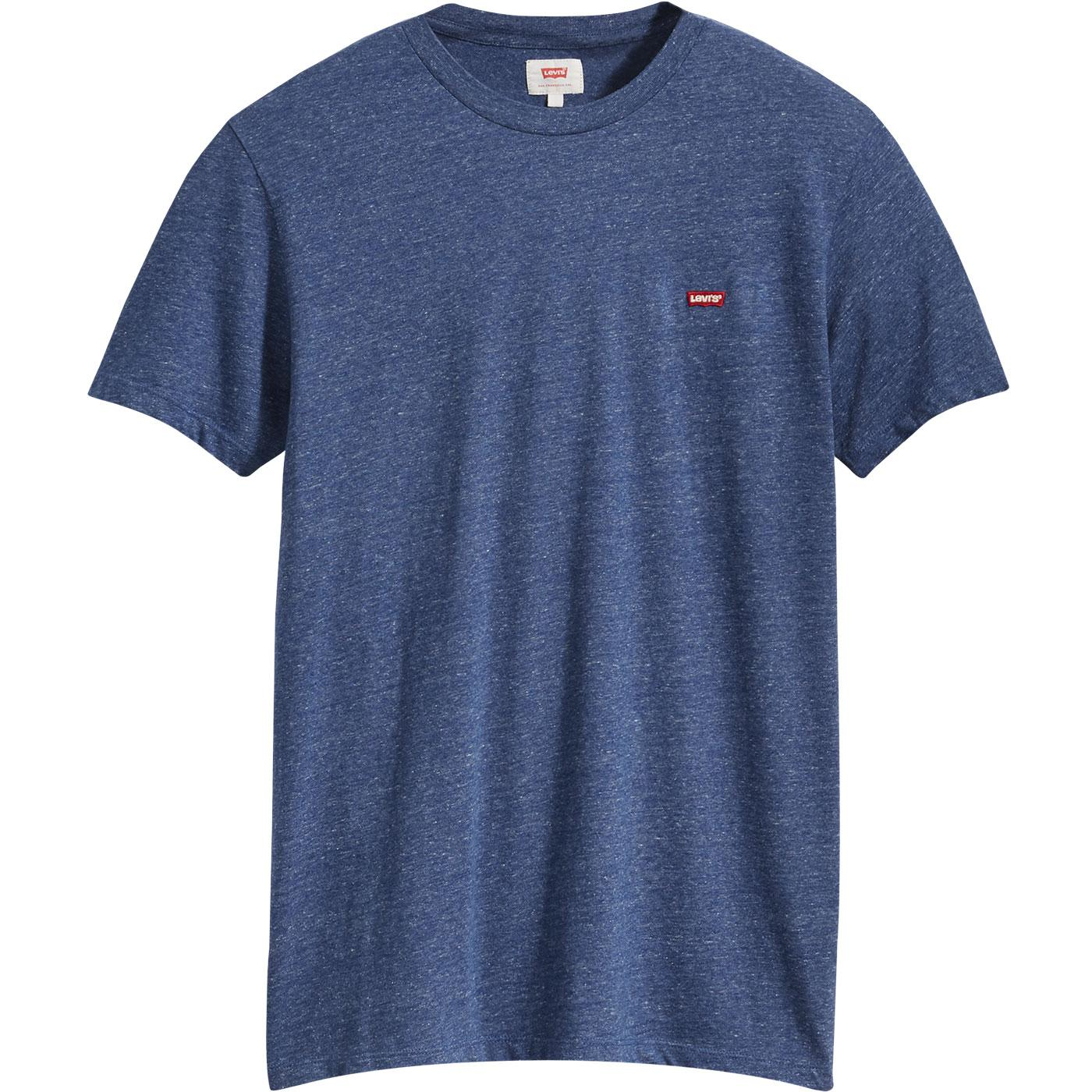 LEVI'S Men's Retro Indie Patch Logo S/S Tee - Blue
