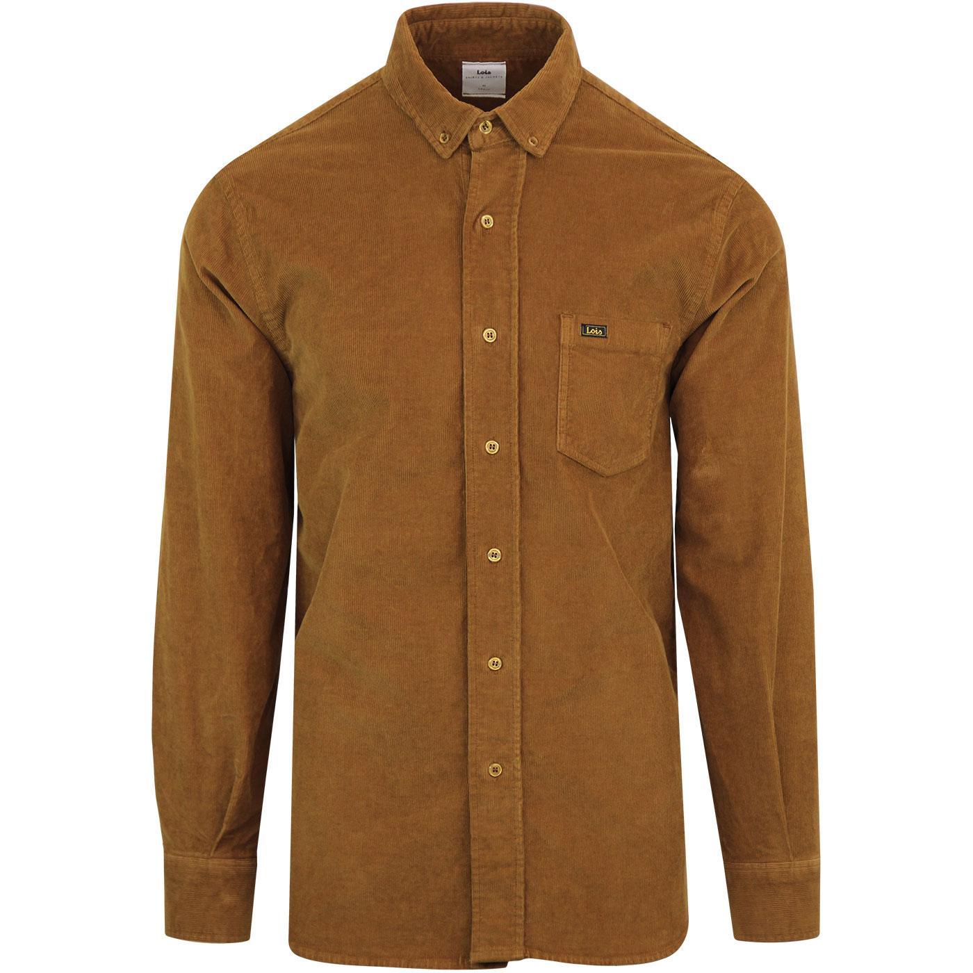 Thomas LOIS JEANS Retro 70s Needle Cord Overshirt