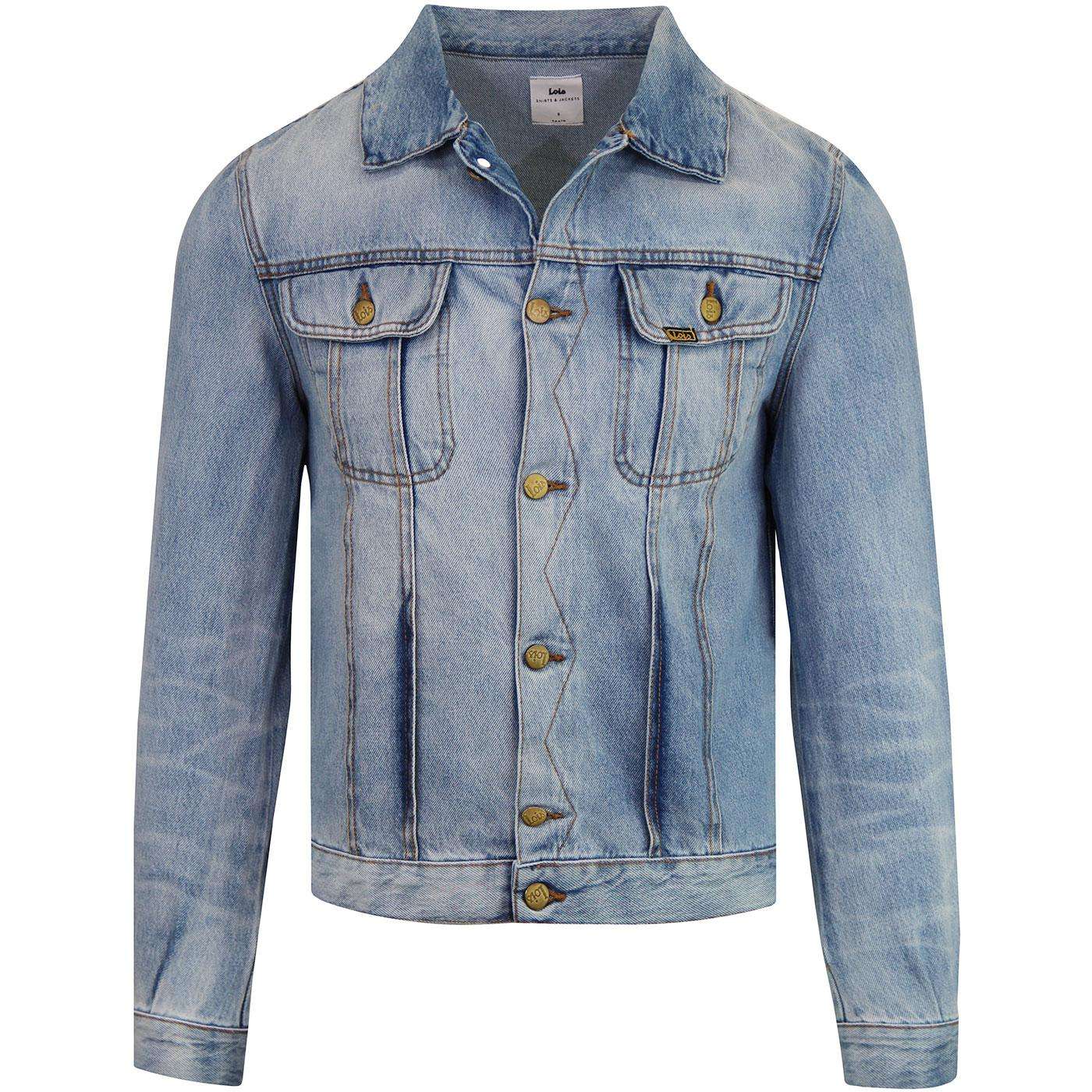 Torero Boy LOIS Retro 60s Distressed Denim Jacket