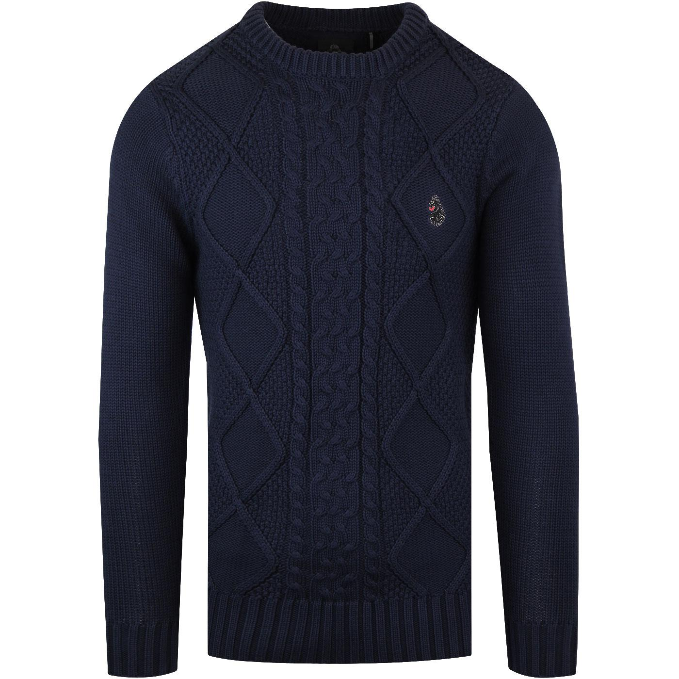 Horton Court LUKE 1977 Cable Fishermans Jumper N