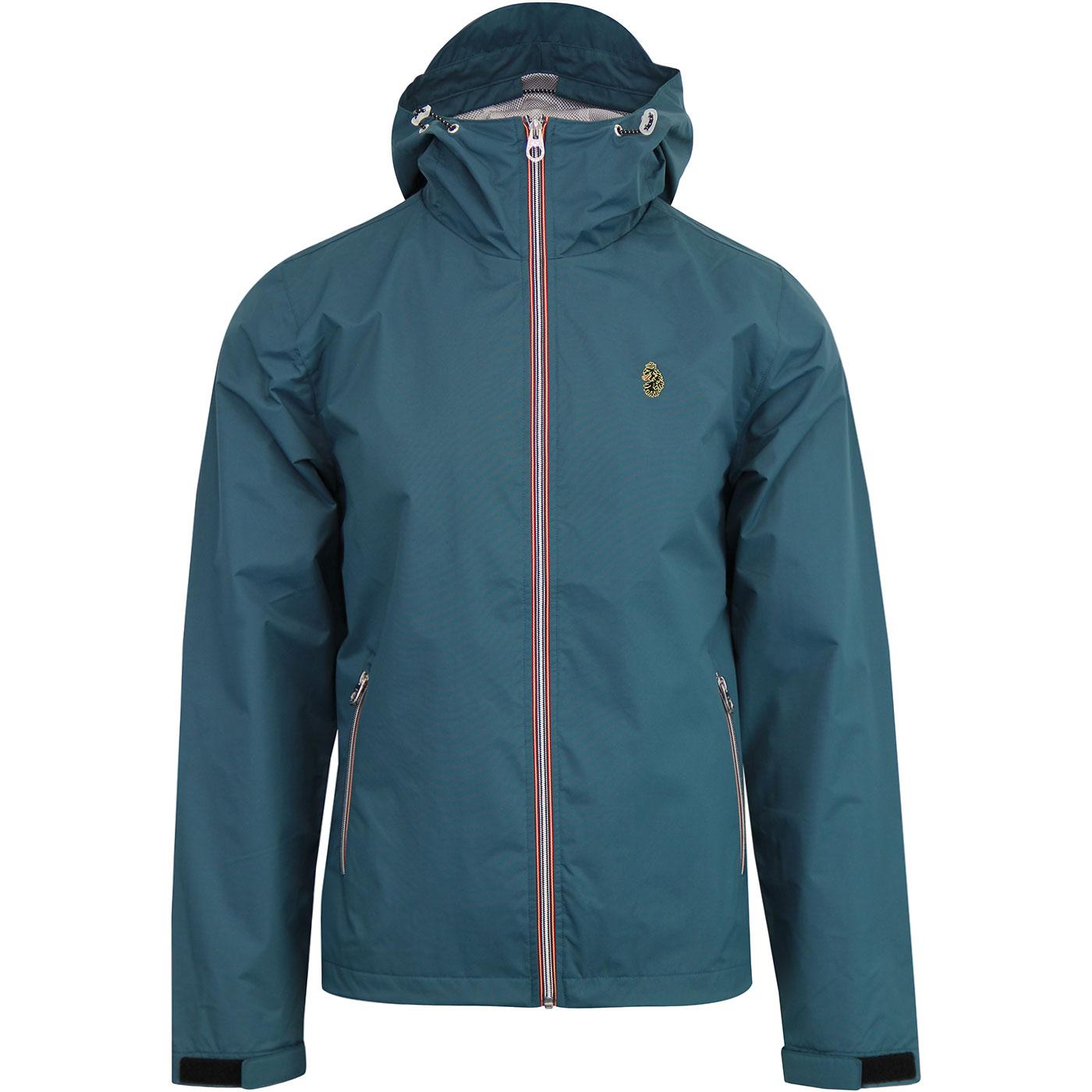 Raleigh LUKE 1977 Retro Anorak Jacket (Atlantic)