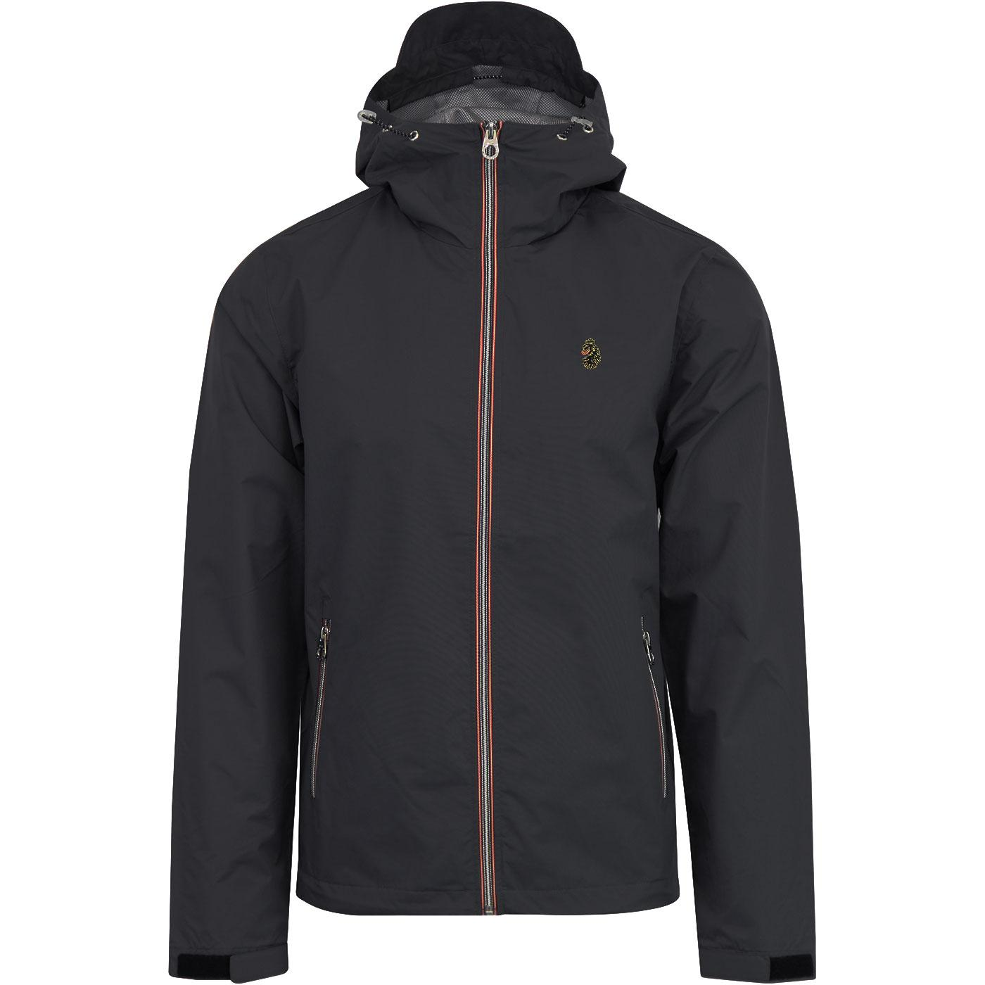 Raleigh LUKE 1977 Retro Anorak Jacket (Charcoal)