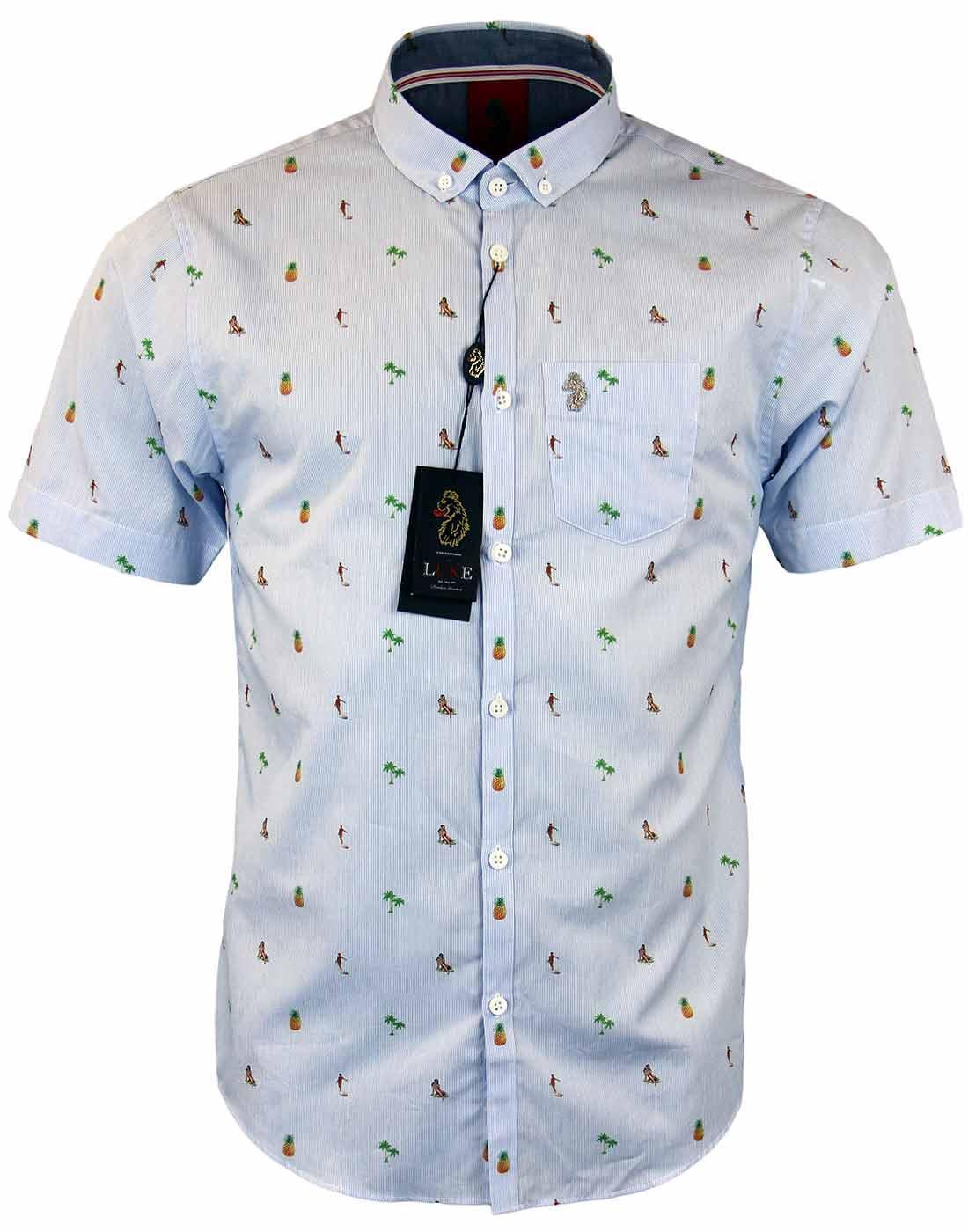 Manetti LUKE 1977 Retro 70s Indie Hawaiian Shirt